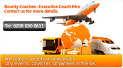 London Coach Hire for Weddings.